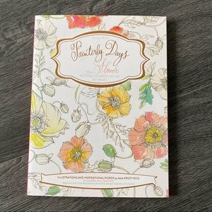 Flower Watercolouring Book - Painterly Days 💐🎨